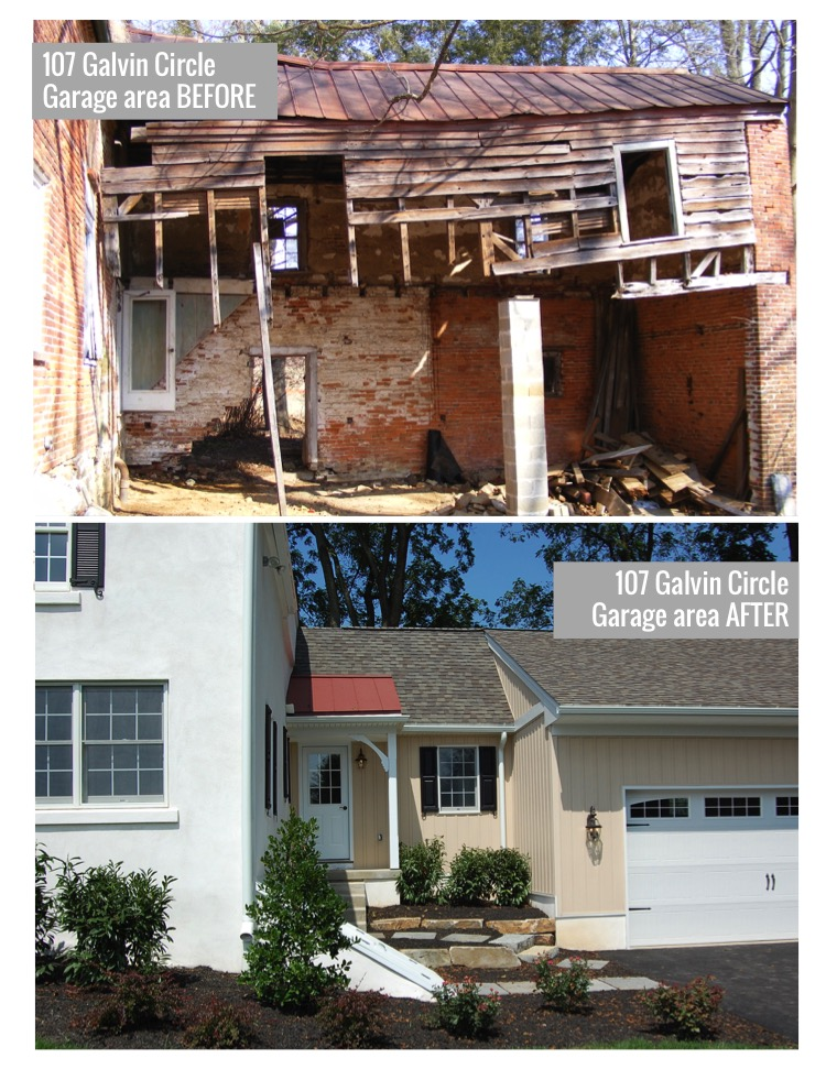 107 Galvin Circle Before and After 3