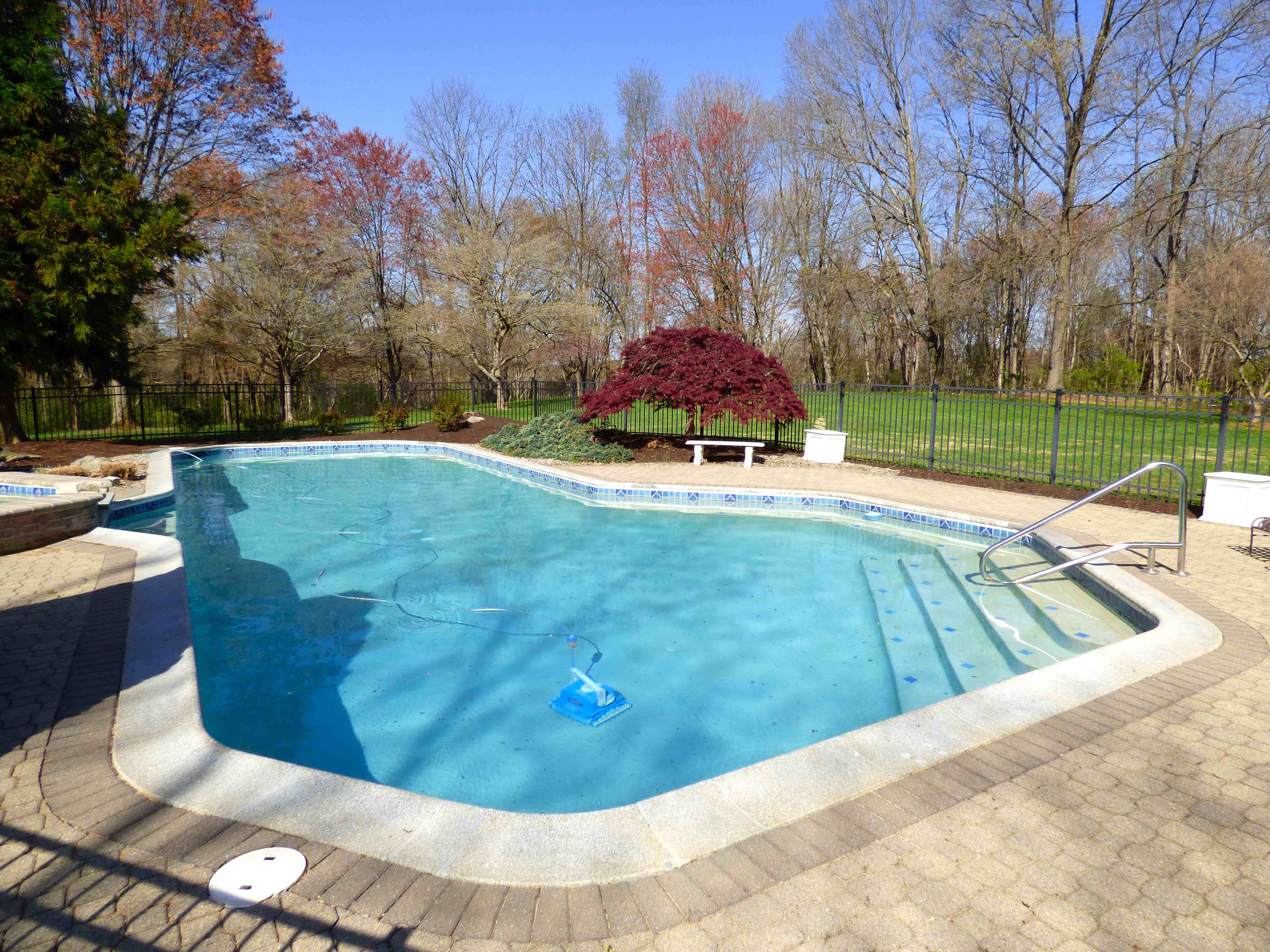 1810 Chestnut Hollow Lane Pool Area