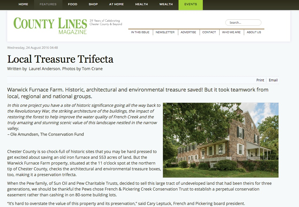 County Lines Online Local Treasure Trifecta