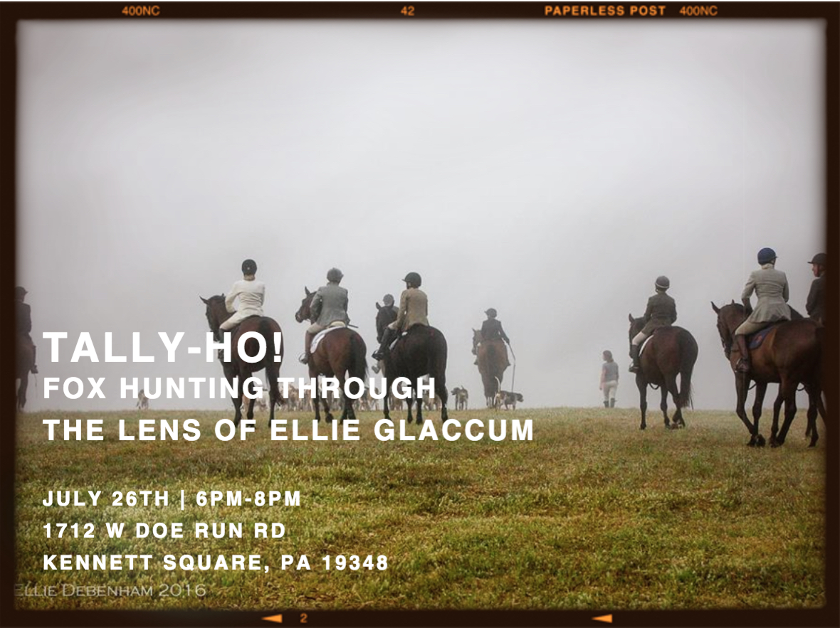 Tally Ho Fox Hunting Through The Lens Of Ellie Glaccum
